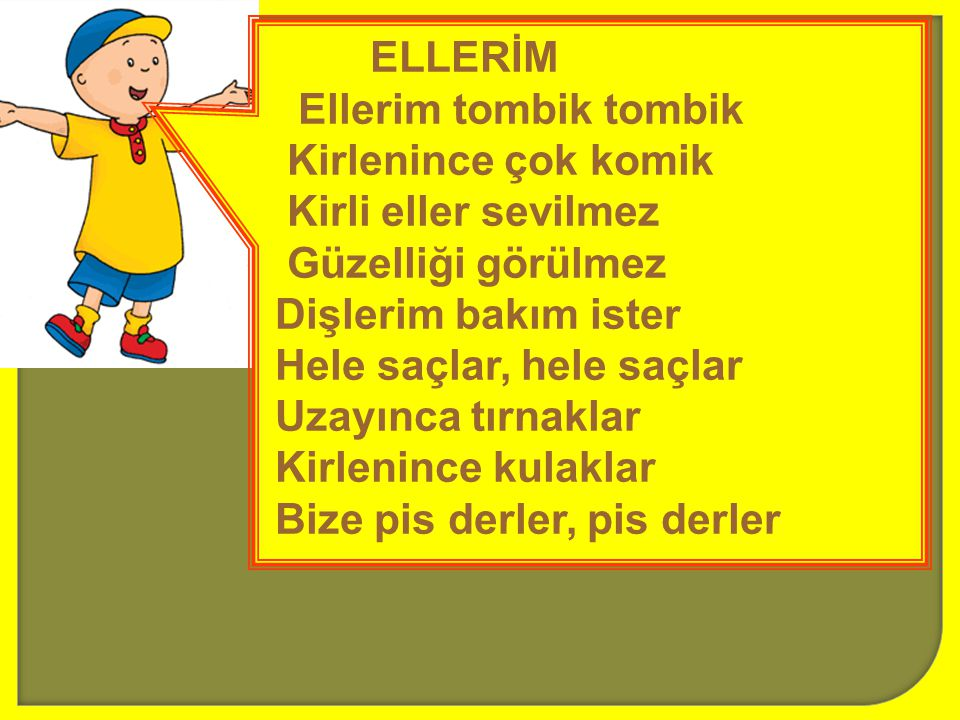 ELLERİM