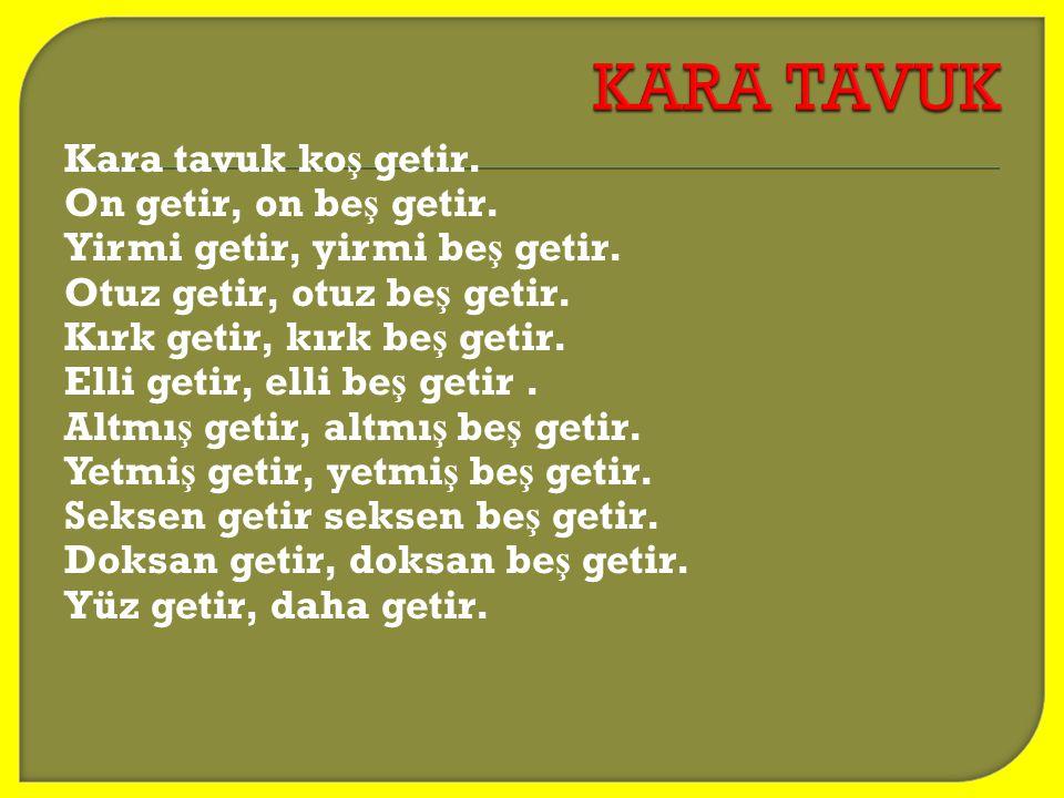 KARA TAVUK