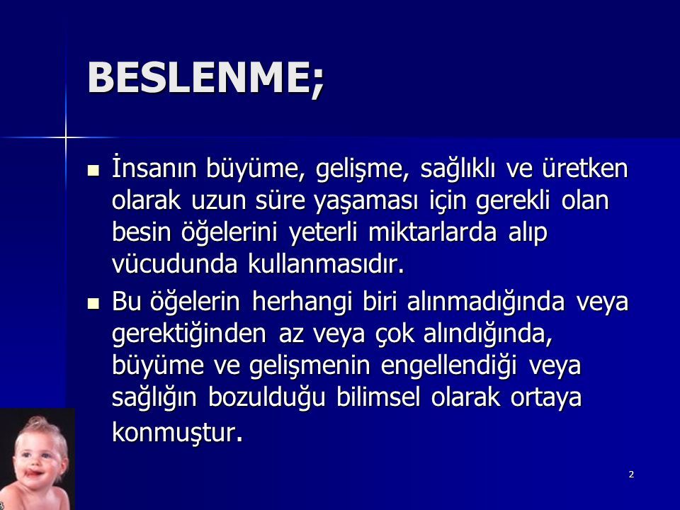 BESLENME;