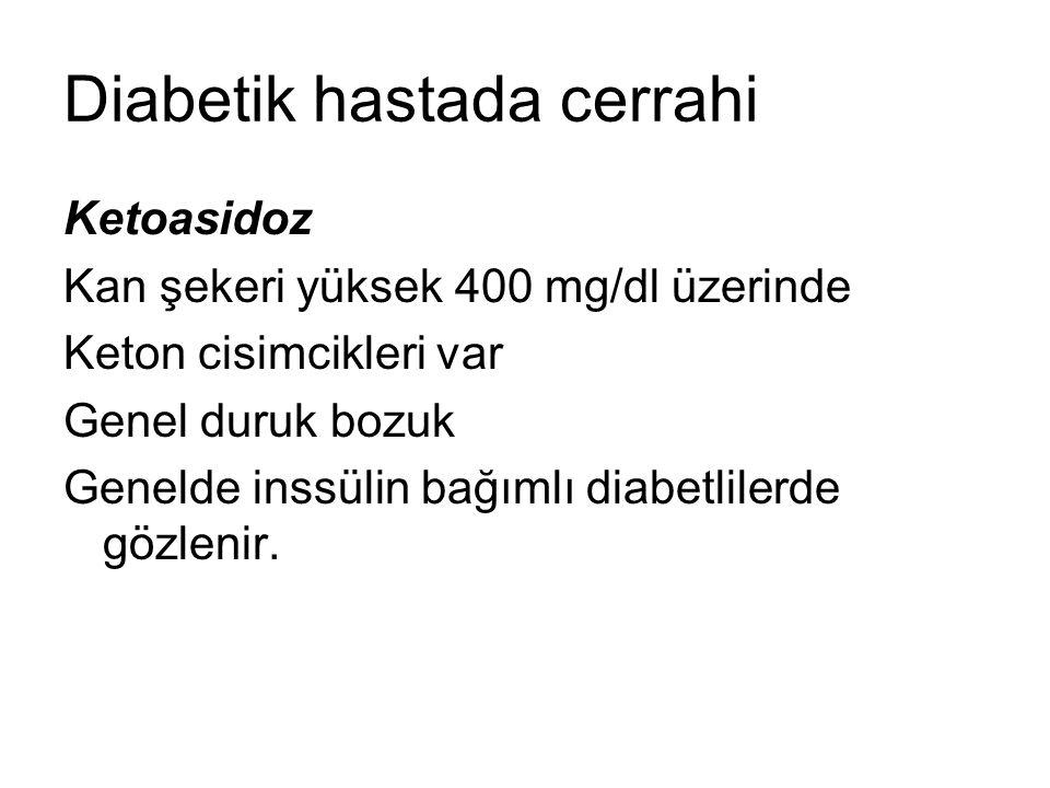 Diabetik hastada cerrahi