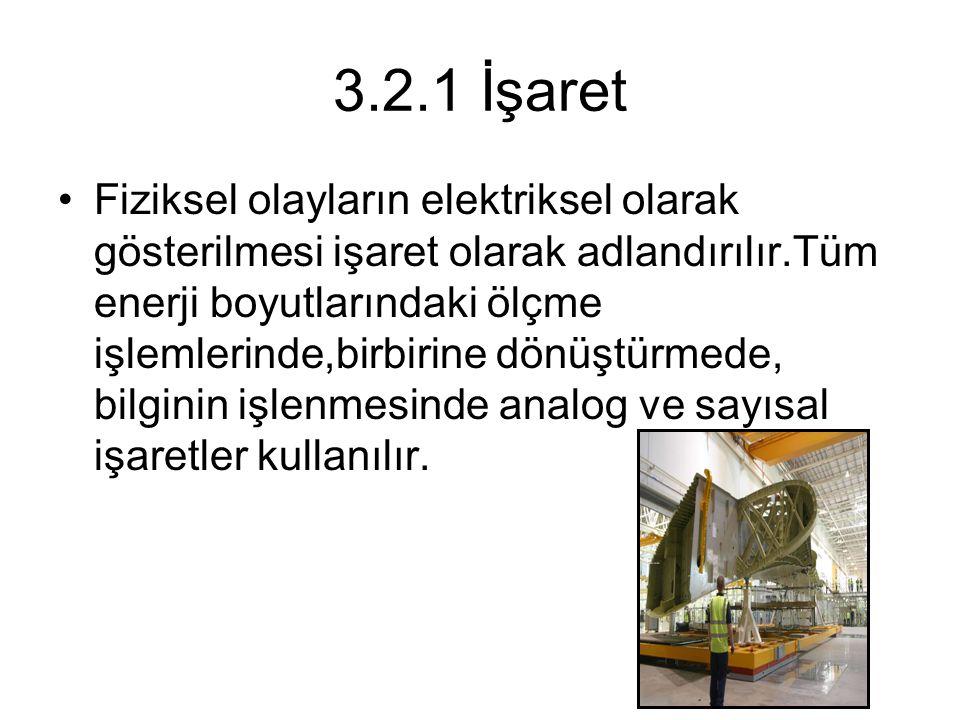 3.2.1 İşaret
