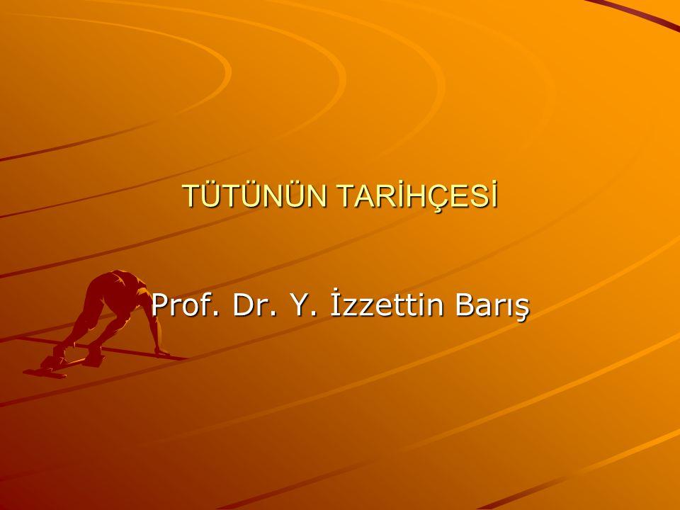 Prof. Dr. Y. İzzettin Barış