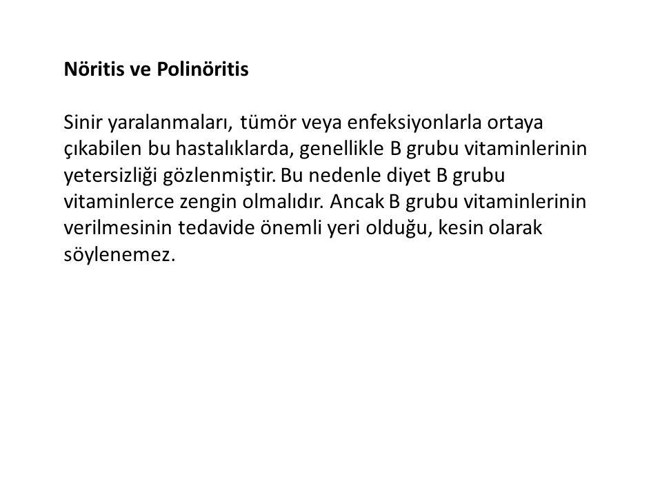 Nöritis ve Polinöritis