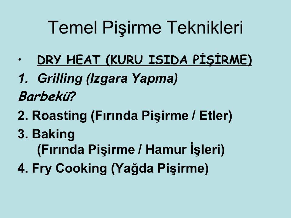 Temel Pişirme Teknikleri