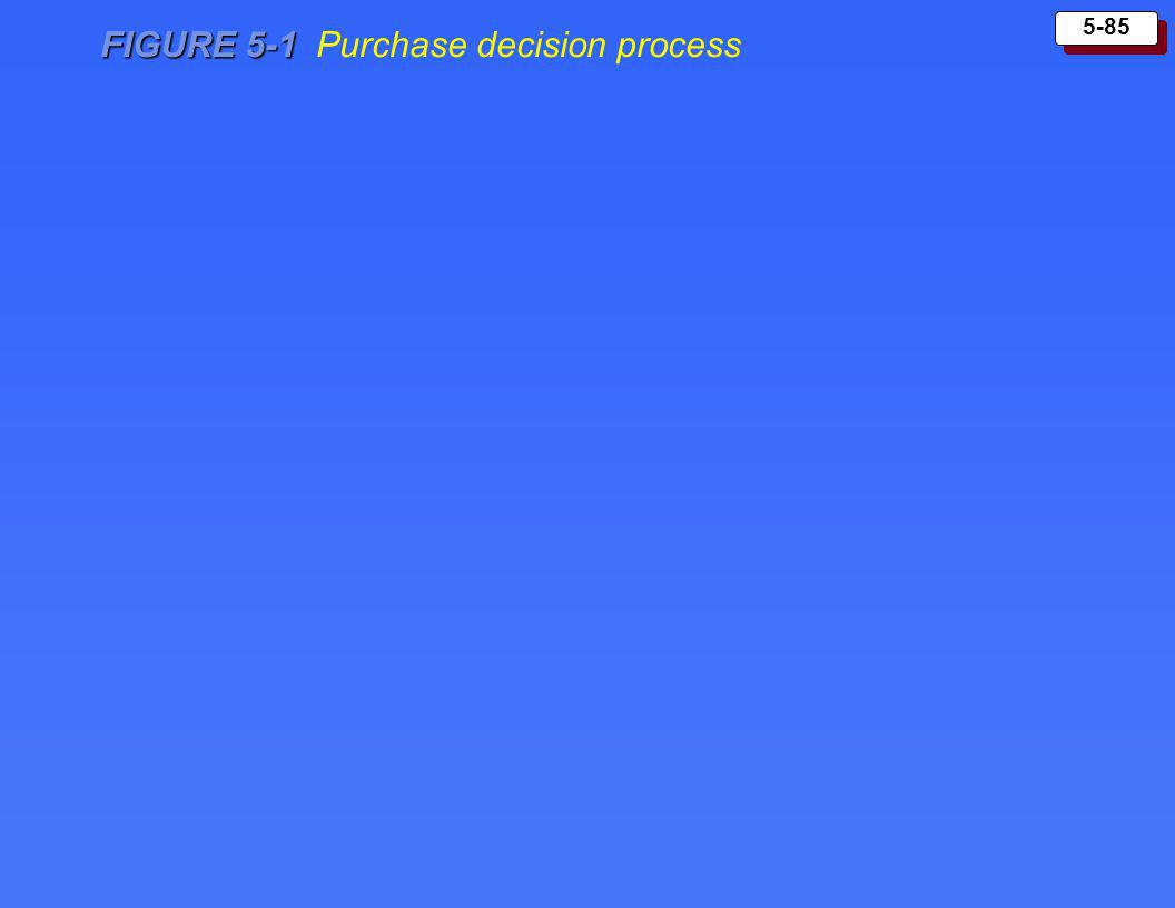 FIGURE 5-1 Purchase decision process