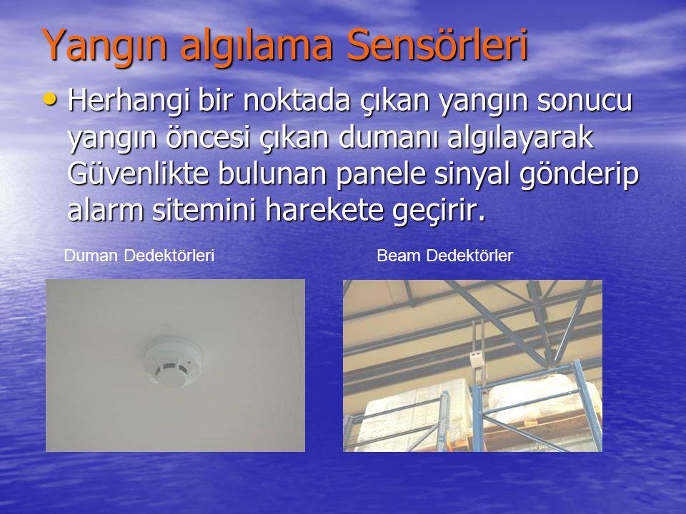 Yangın algılama Sensörleri