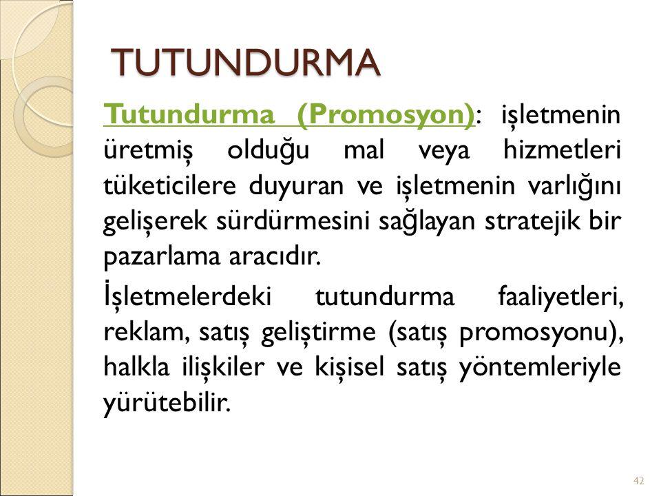 TUTUNDURMA