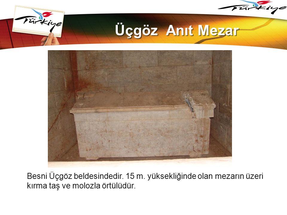 www.themegallery.com Üçgöz Anıt Mezar. Besni Üçgöz beldesindedir.
