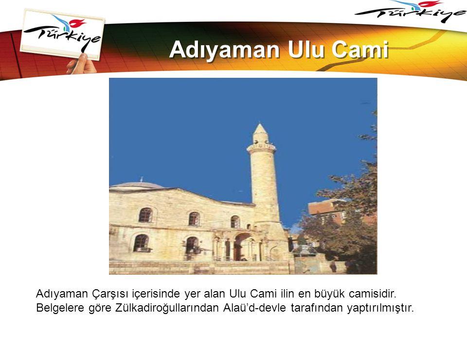 www.themegallery.com Adıyaman Ulu Cami.