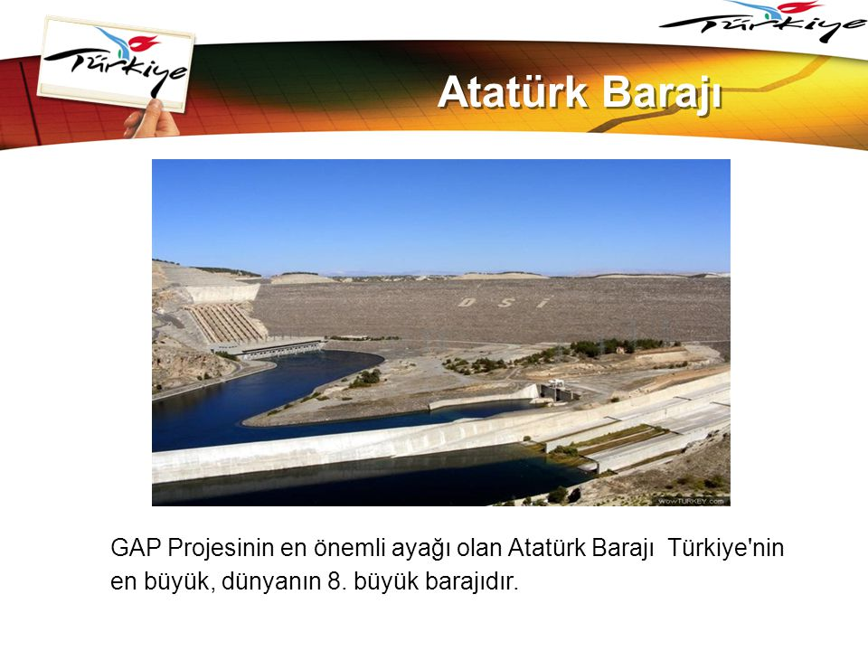 www.themegallery.com Atatürk Barajı.