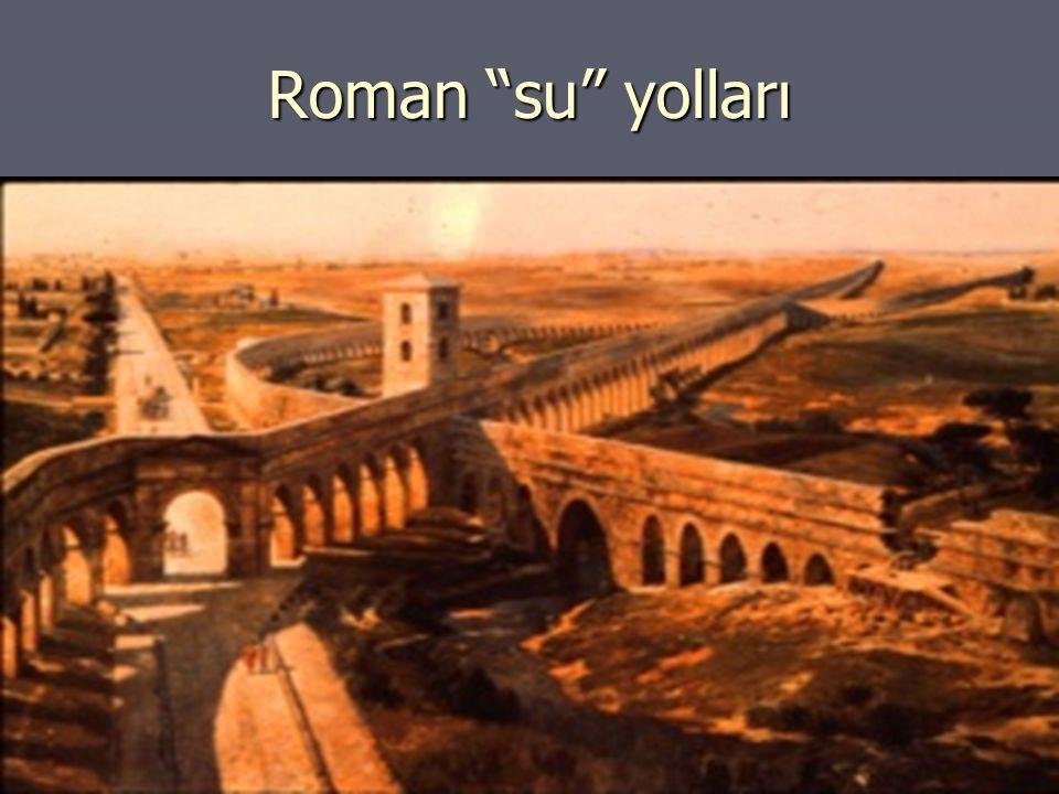 Roman su yolları