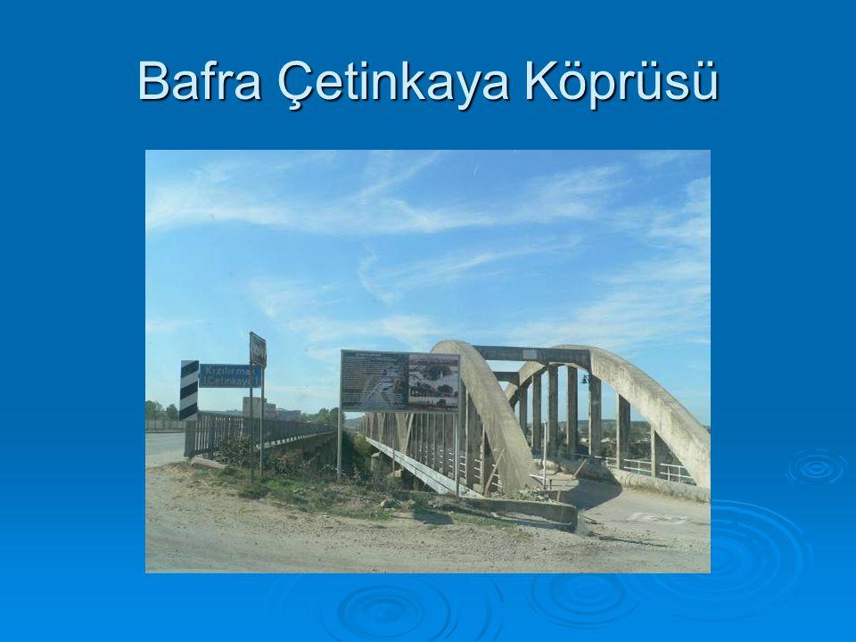 Bafra Çetinkaya Köprüsü