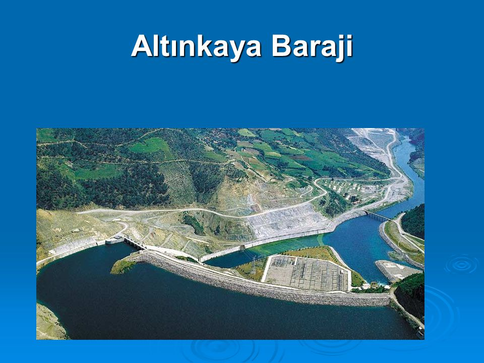 Altınkaya Baraji