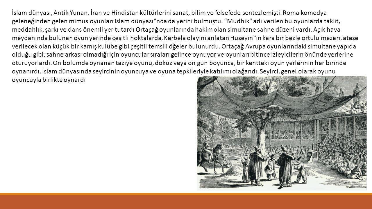 İslam dünyası, Antik Yunan, İran ve Hindistan kültürlerini sanat, bilim ve felsefede sentezlemişti.