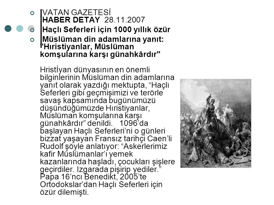 VATAN GAZETESİ HABER DETAY 28.11.2007
