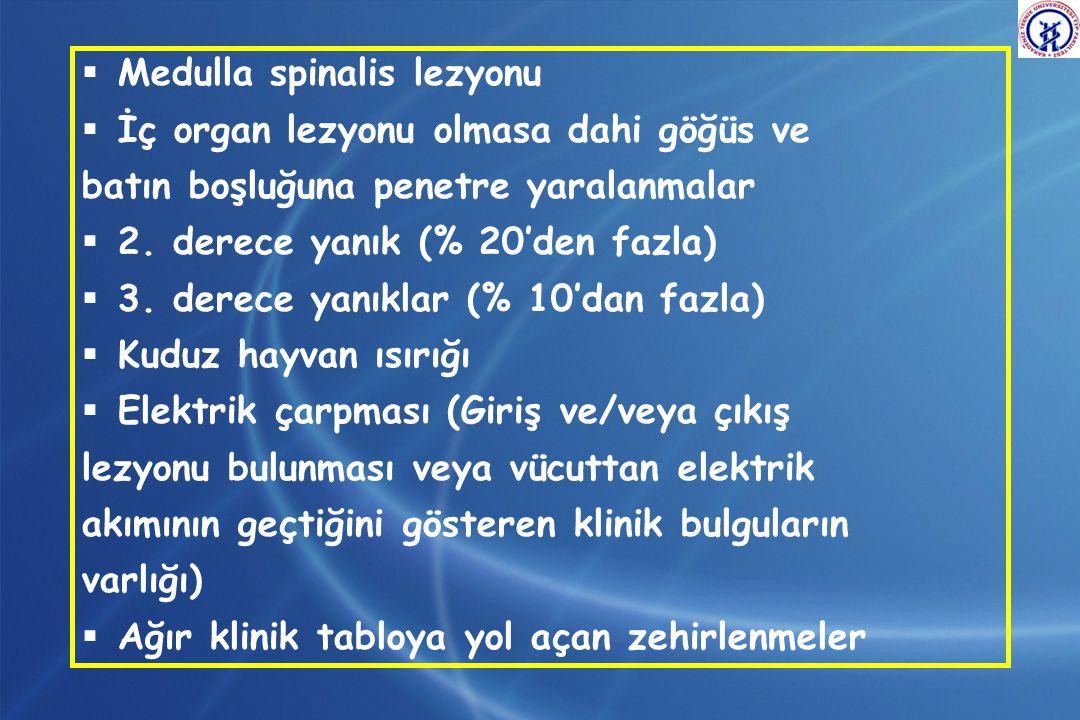 Medulla spinalis lezyonu