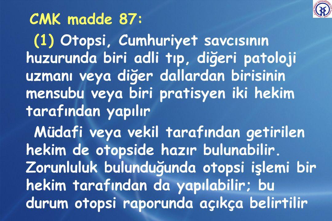 CMK madde 87: