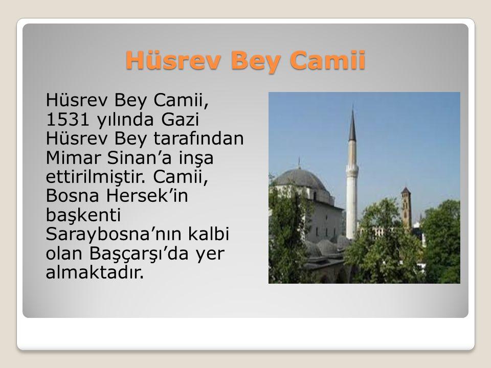 Hüsrev Bey Camii