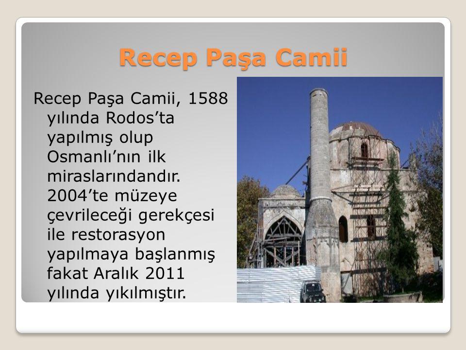 Recep Paşa Camii