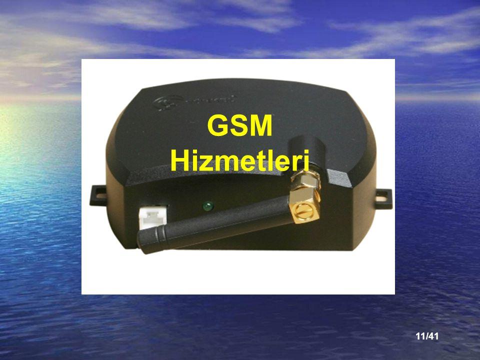 GSM Hizmetleri