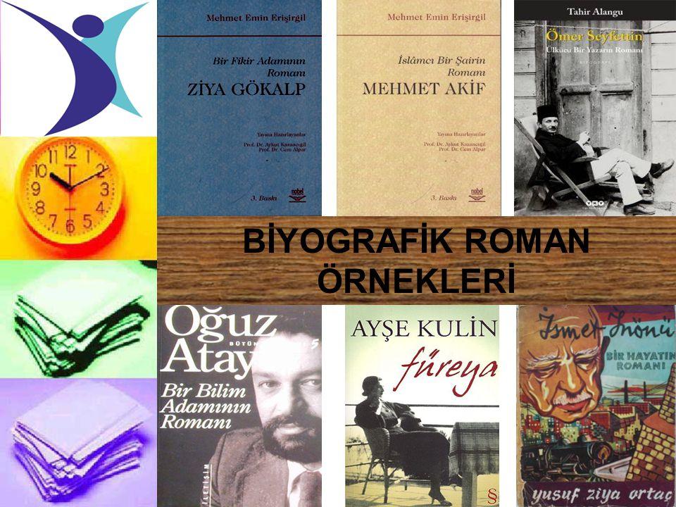 BİYOGRAFİK ROMAN ÖRNEKLERİ