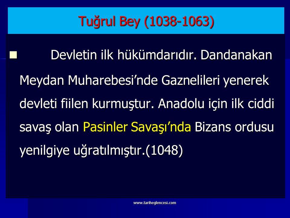 Tuğrul Bey (1038-1063)