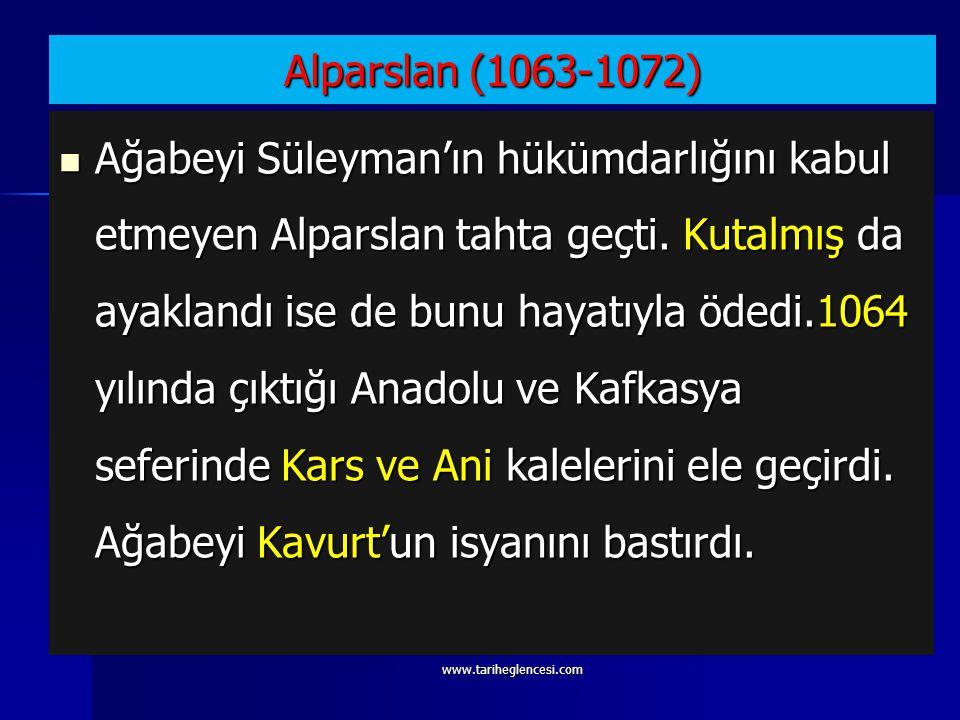 Alparslan (1063-1072)