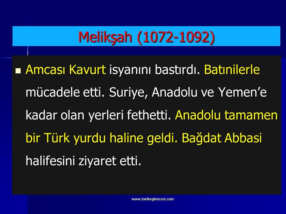 Melikşah (1072-1092)