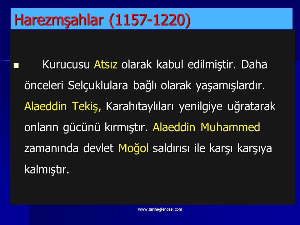 Harezmşahlar (1157-1220)