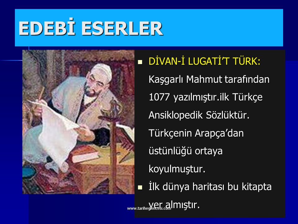 EDEBİ ESERLER