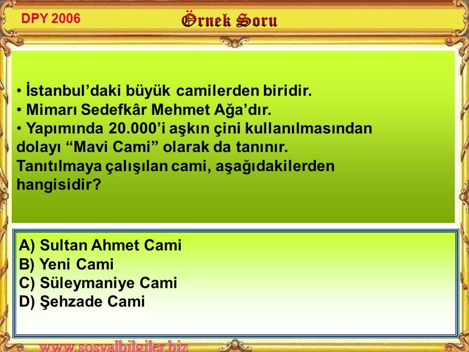 • İstanbul'daki büyük camilerden biridir.
