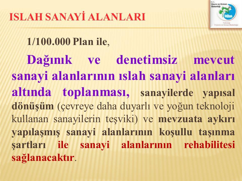 ISLAH SANAYİ ALANLARI