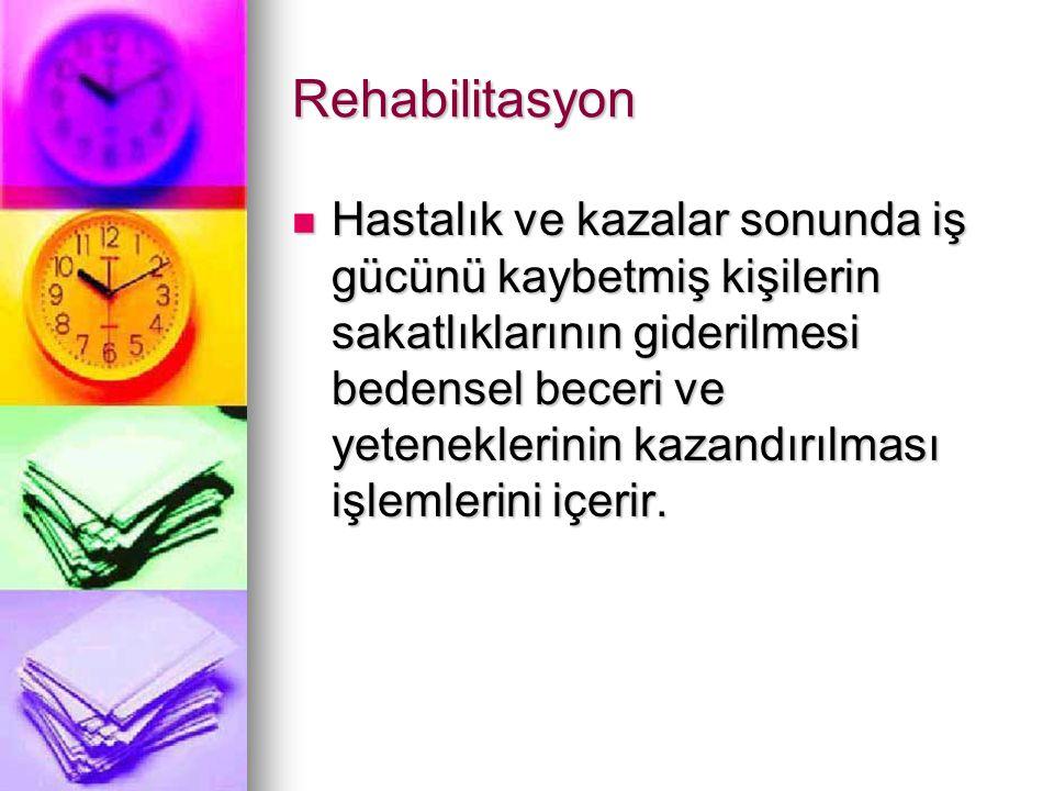 Rehabilitasyon
