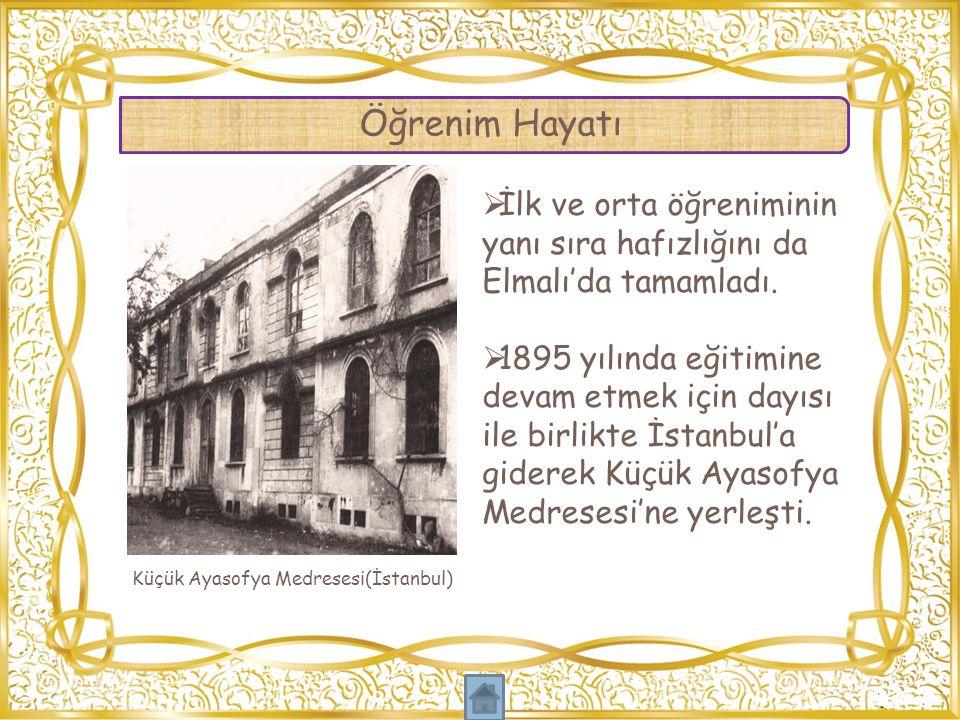 Küçük Ayasofya Medresesi(İstanbul)