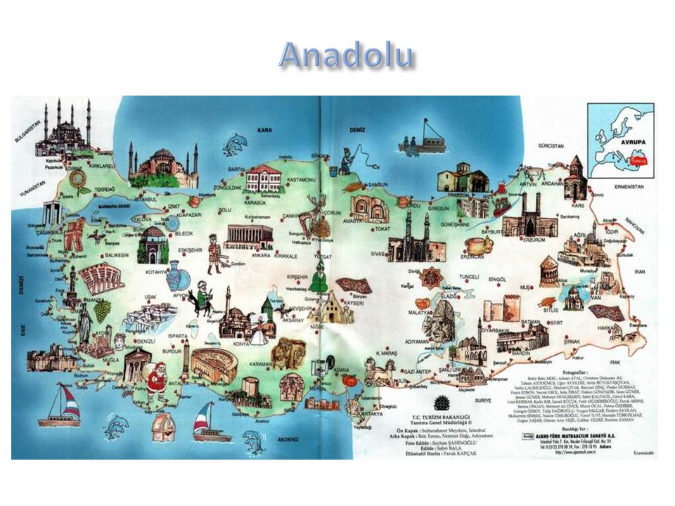 Anadolu Coğrafi konumunun elverişliliği