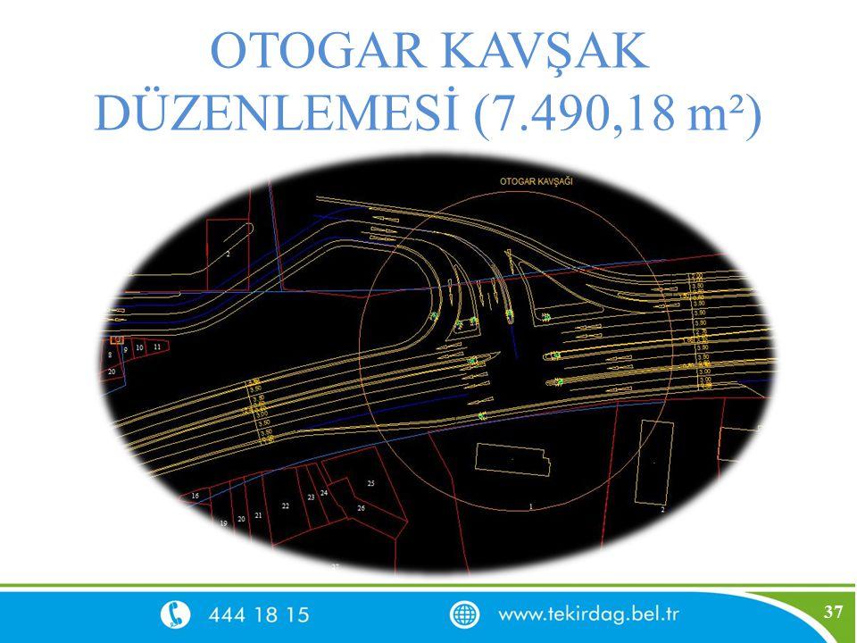 OTOGAR KAVŞAK DÜZENLEMESİ (7.490,18 m²)