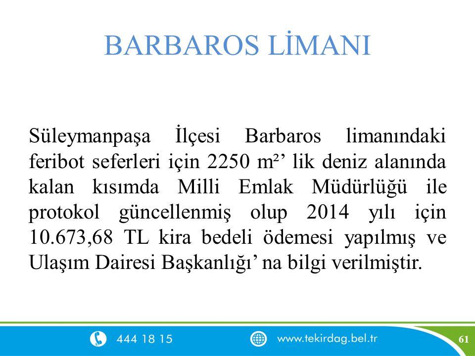 BARBAROS LİMANI