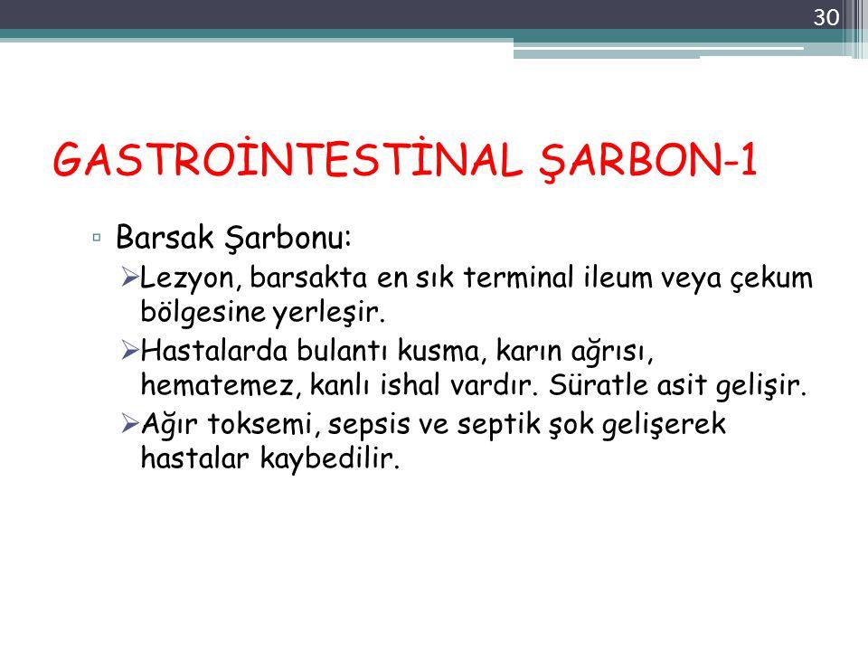 GASTROİNTESTİNAL ŞARBON-1