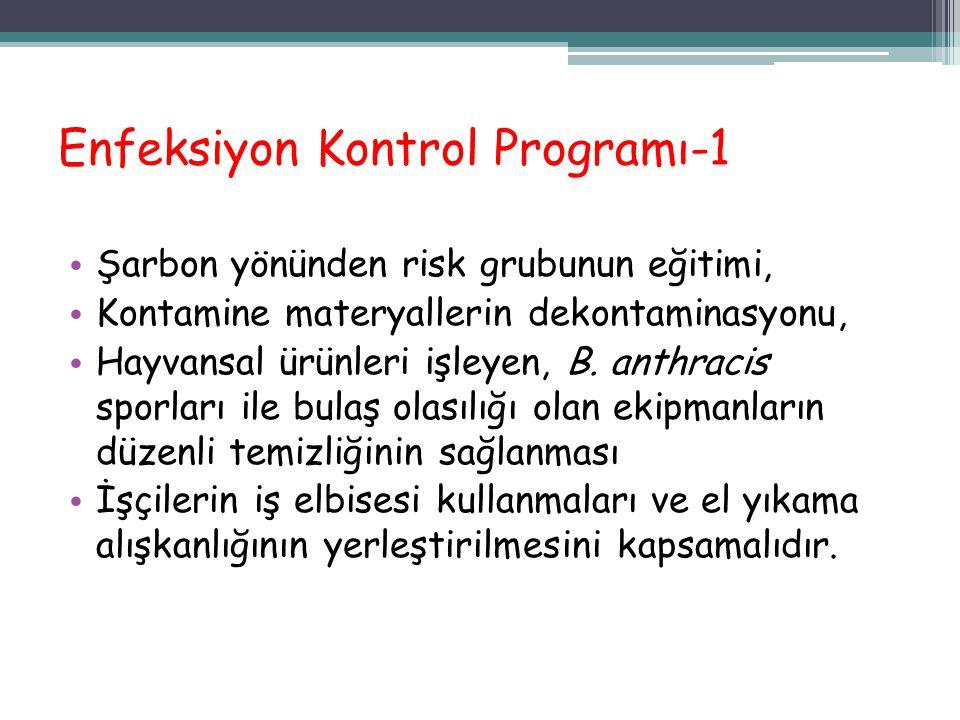 Enfeksiyon Kontrol Programı-1