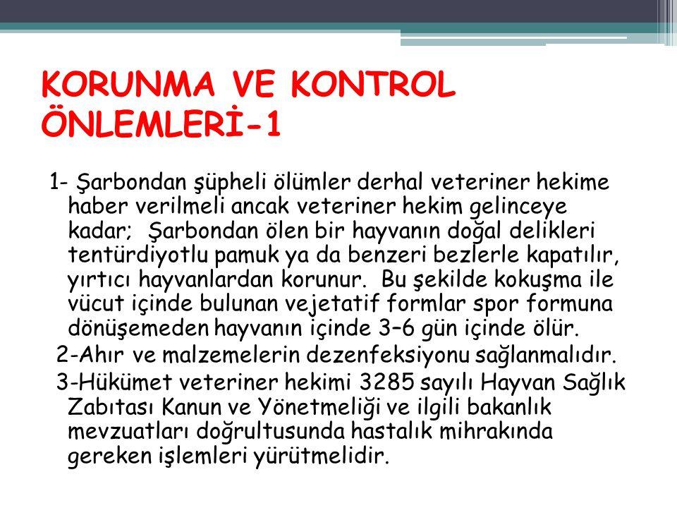 KORUNMA VE KONTROL ÖNLEMLERİ-1