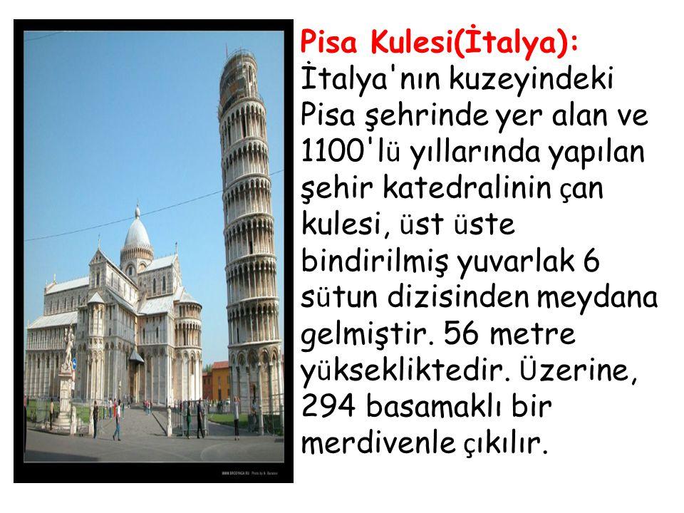 Pisa Kulesi(İtalya):