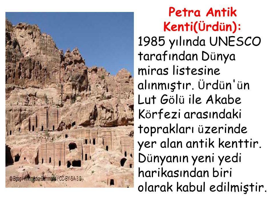 Petra Antik Kenti(Ürdün):