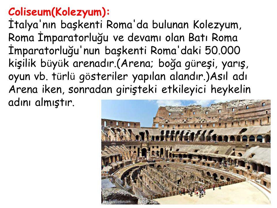 Coliseum(Kolezyum):