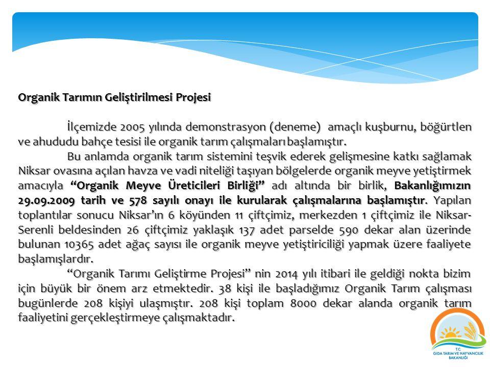 Organik Tarımın Geliştirilmesi Projesi