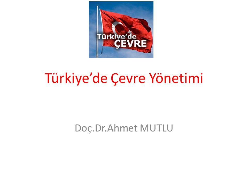 Türkiye'de Çevre Yönetimi