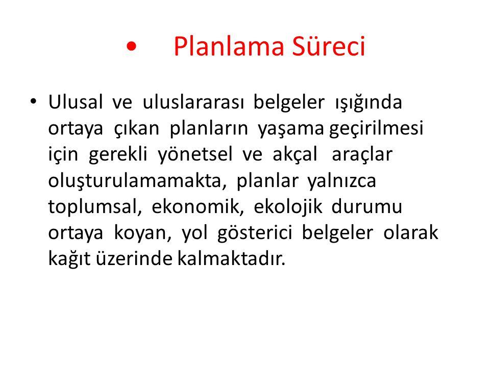 • Planlama Süreci