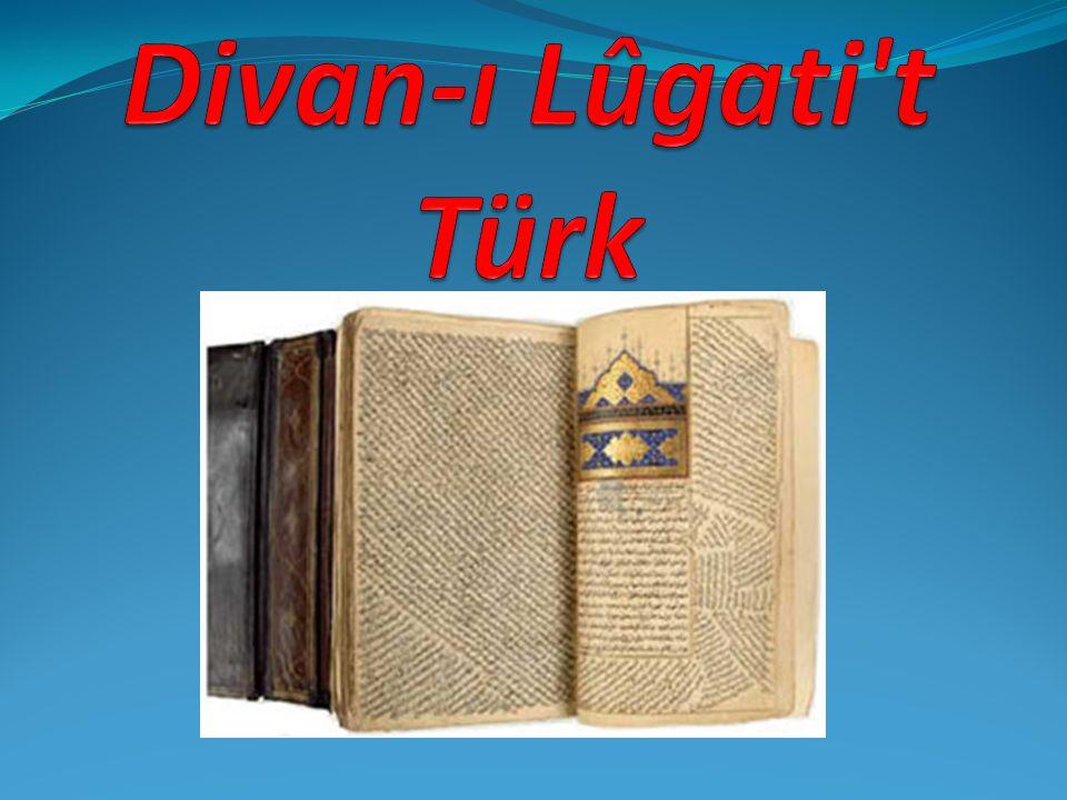 Divan-ı Lûgati t Türk