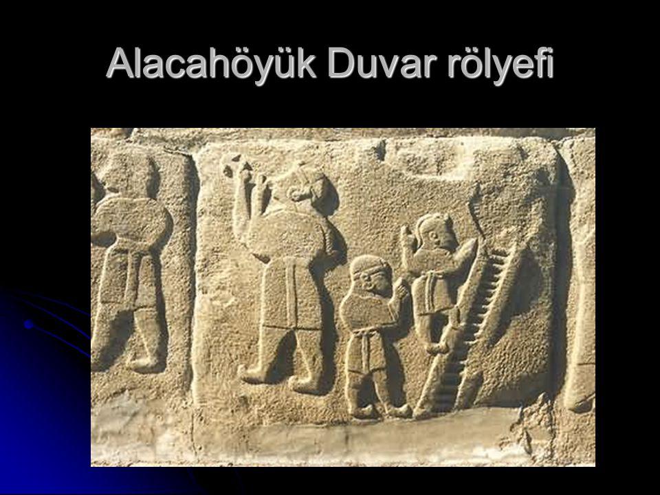 Alacahöyük Duvar rölyefi
