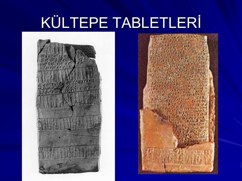 KÜLTEPE TABLETLERİ