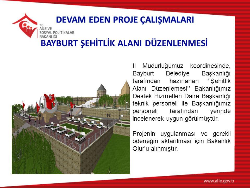 BAYBURT ŞEHİTLİK ALANI DÜZENLENMESİ